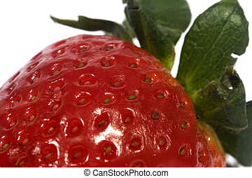 strawberry - The increased image of a strawberry