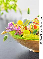 籃子, 蛋, 復活節