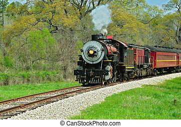 en, ferrocarril