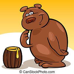 Bear and honey