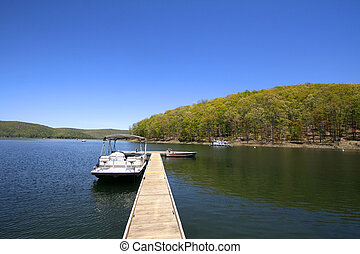 Allegheny river - Scenic allegheny river in Pennsylvania in...