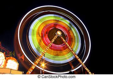 Carnival in night