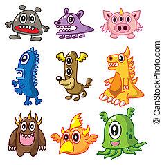cartoon Monster  - cartoon Monster