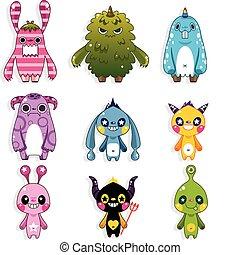 doodle monster  - doodle monster