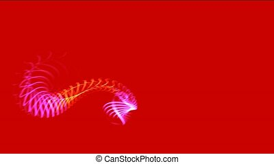 flare grid shaped shine curve wire,fire dragon...