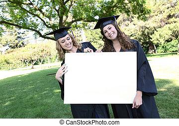 Pretty Women at Graduation