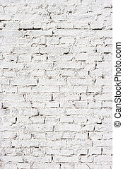 Wall for background texture with white bricks