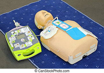 AED dummy - Automated External Defibrillator with training...