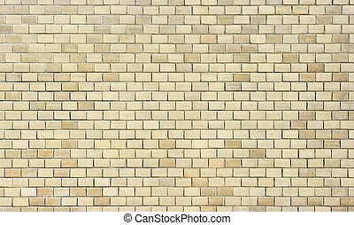 Very high resolution texture of creamy bricks wall