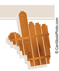 wood grain hand cursor - Computer hand cursor in wood grain...