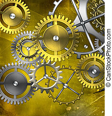 mechanism  - retro mechanism