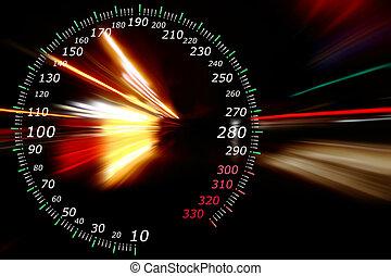 aceleração, movimento
