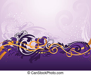 horizontal purple pattern