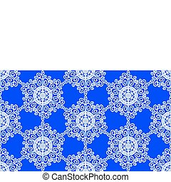 Floral seamless vector decor