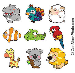 cartoon animal  - cartoon animal