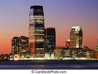 New Jersey Goldman Sachs Tower - JERSEY CITY - AUG 8:...
