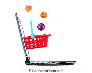 E-Commerce - A contempory photo of shopping on line