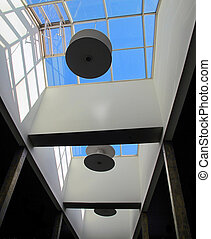 Detail of interior architecture commercial
