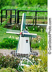 Model Wind Mill - Model a water wind mill in the county
