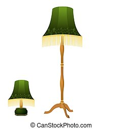 Beautiful classical lamp