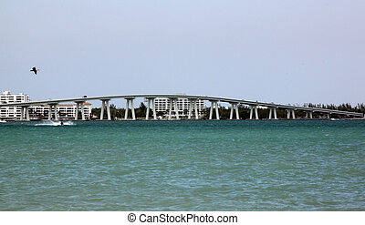 Sanibel Causeway, Ft Myers, FL - taken from sanibel