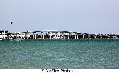 Sanibel Causeway, Ft. Myers, FL - taken from sanibel