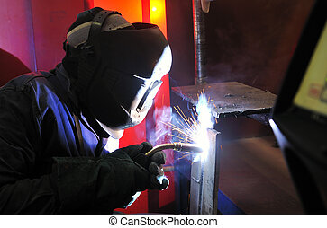 Cutting metal with mig welder