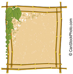 frame from a bamboo