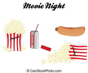 Movie Night with all the trimmings - Going to the movie and...