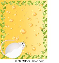 mice against from yellow cheese