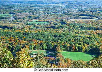 The foliage scenery in New Jersey - The foliage scenery...