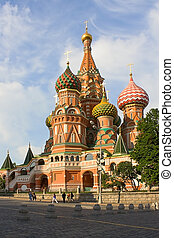 Saint Basil's Kathedral - View of Saint Basil's Kathedral,...