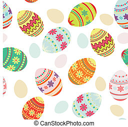 Seamless pattern Easter background