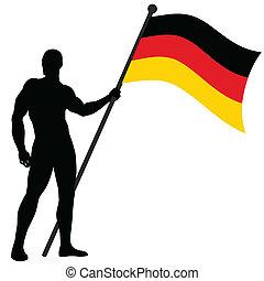 Flag Bearer_Germany