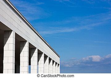 30s architecture - italian portico - portico of italian...