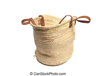 eco wicker shopping bag - Wicker shopping bag
