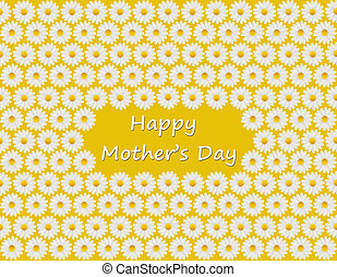 Mother\'s Day card with daisies