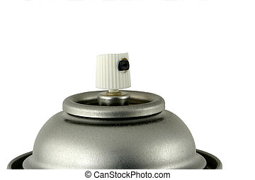 Spray paint can nozzle - A Spray paint can nozzle