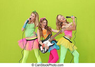 Partido, crianças, ou, jovem, adolescentes