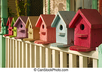 What Color is Your Birdhouse - Colorful collection of...