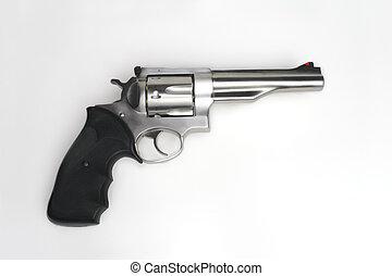 magnum,  44,  Handgun,  revólver, isolado