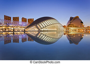 Valencias City of Arts and Science Museum Ciudad de las...