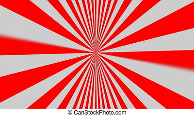 animation of starburst red
