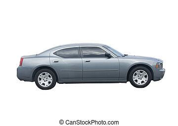grey sedan - modern day combo sedan and muscle car