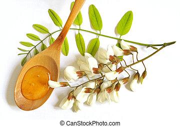 Acacia, miel