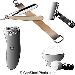 Various Accessories Shaving