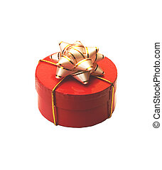 giftbox - red giftbox with white bow