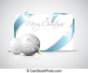 Christmas card with place for your text