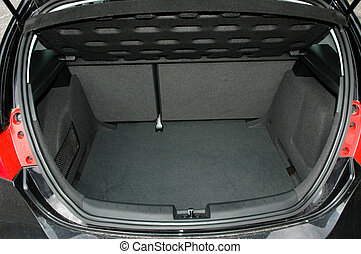 Trunk - Empty trunk of the car