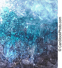 Beautiful grunge splatter background- Great for textures and...